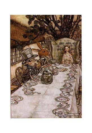 arthur rackham alice in wonderland. Arthur Rackham, circa 1907