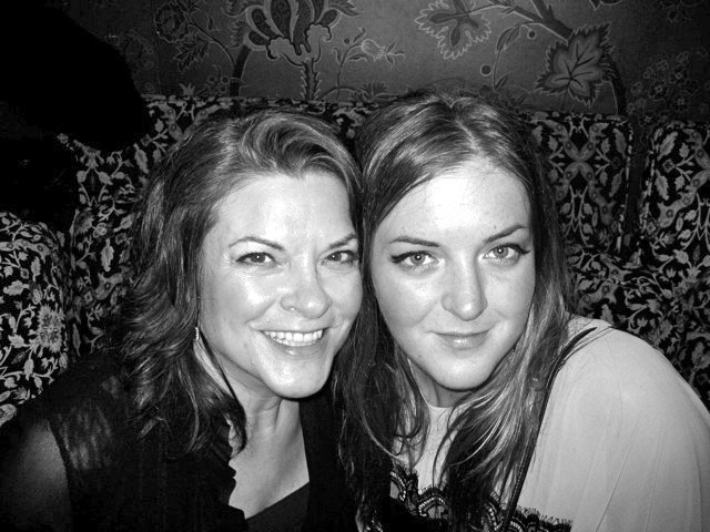 Photo of Rosanne Cash & her Daughter   Chelsea Jean Crowell