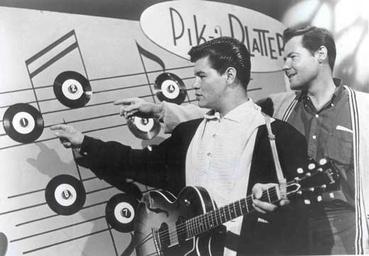 Bob Brother of Ritchie Valens Ritchie Valens Left And Bob