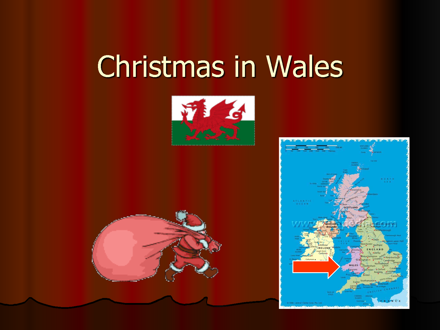 a caroling they go - Christmas In Wales